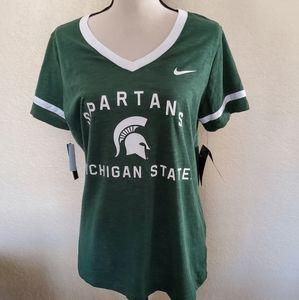 Nike Dri Fit Large Michigan State T-Shirt